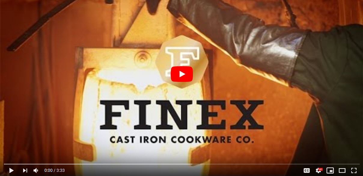 Video: The FINEX Cast Iron Cookware Story